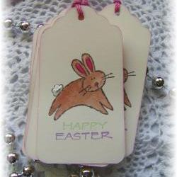 Happy Easter Bunny Tags (6)